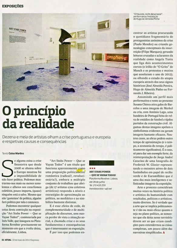 Fernando J. Ribeiro_Celso Martins_O Princípio da Realidade_2014