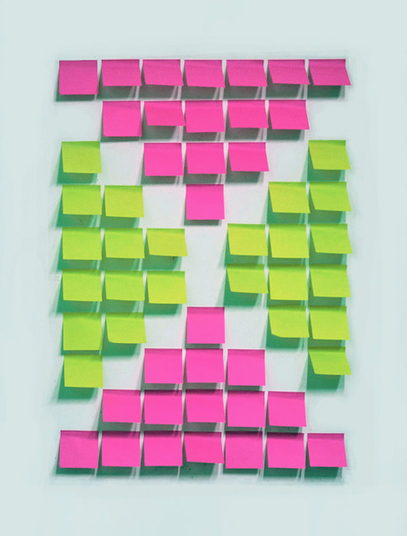 Fernando J. Ribeiro_Flag_2013_post-its