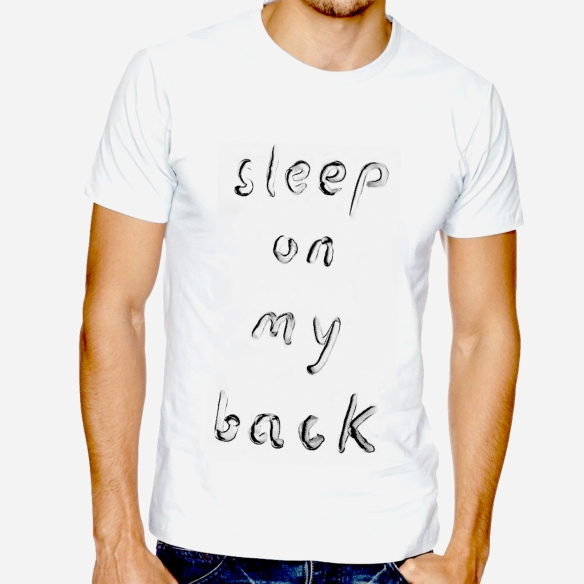Fernando J. Ribeiro_Sleep on My Back_T-shirt_2015