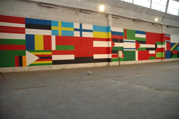 FErnando J. Ribeiro_Flags sculpture_2014