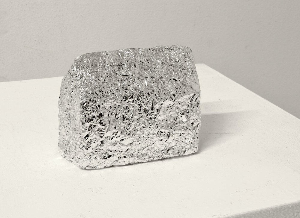 Fernando J. Ribeiro_Abandoned House_Sculpture_aluminium foil_2016