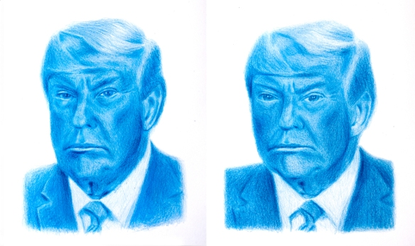 Fernando J. Ribeiro_Trump caricature_drawing_2020