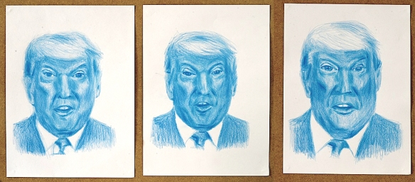 Fernando J. Ribeiro_Donald Trump_drawing_2019