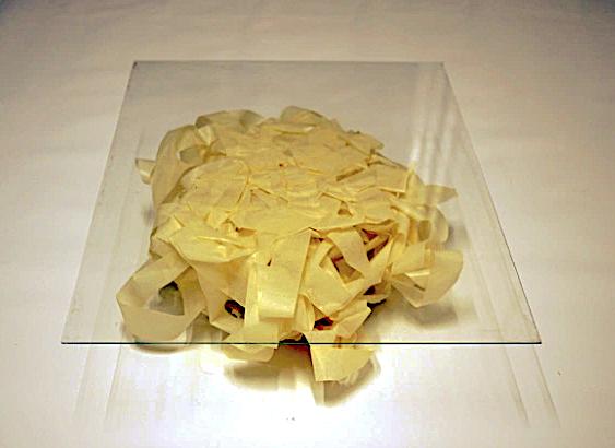 Fernando J. Ribeiro_table_paper tape_2012