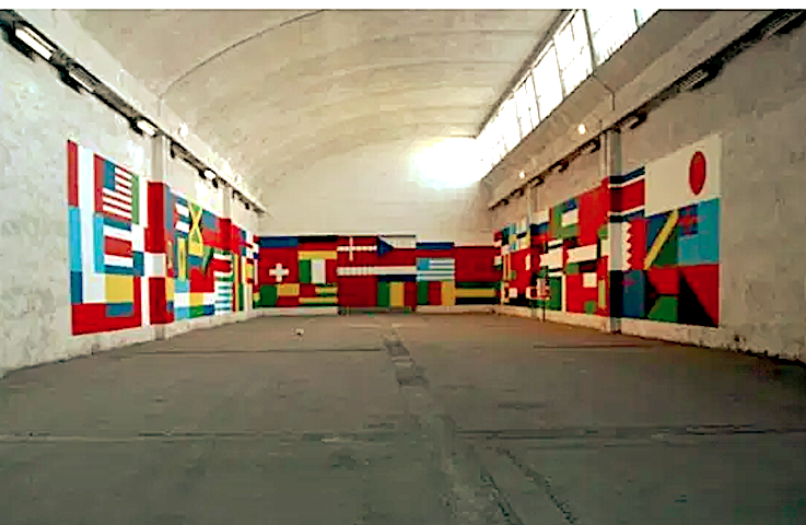 Fernando J. Ribeiro_world cup_wall painting_2004