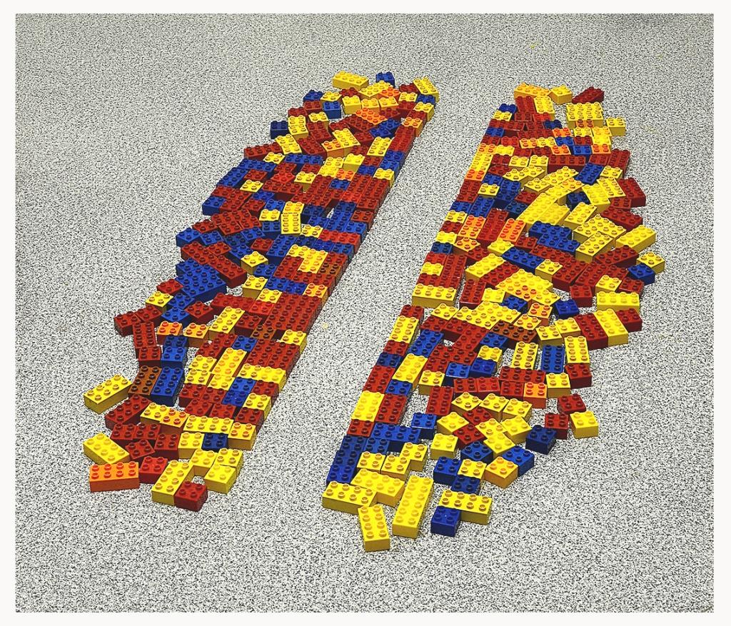 Fernando J. Ribeiro_Crosswalk_LEGO sculpture_2021